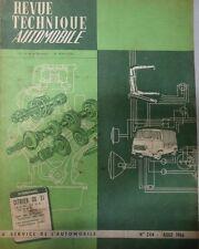 Revue technique CITROEN DS 21 M 19 A 19 MA RTA 244 1966 + MINI BMC 850 COOPER