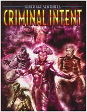 Silver Age Sentinels: Criminal Intent, Super Hero Rpg Sourcebook, Softcover