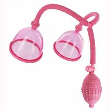 Female Breast Enhancement Enlargement Pump Enlarger with Dual Vacuum Suction Cup