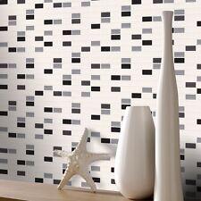 cocina y baño Mosaico rectangular Azulejos Papel Pintado Por Rasch 817119