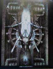 H R Giger Poster Baphomet The Borg are Back Star Trek Fans 15x12 Offset Litho