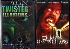 Twisted Illusions 2 & Demon Under Glass - NEW Horror