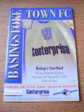 09/11/2002 Basingstoke Town v Bishops Stortford  . No obvious faults, unless des