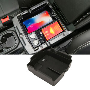 Car Armrest Storage Box for Jeep Wrangler JL Gladiator JT 2018 2019 2020 2021