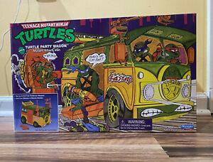 IN HAND *  TMNT Original Party Wagon Playmates 2021 Teenage Mutant Ninja Turtles