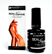 Premium Nails SEAL & SHINE UV Top Coat .5oz/14ml