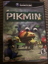 Pikmin (Nintendo GameCube, 2001) Black Label - COMPLETE With Manual and Case
