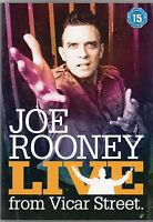 Joe Rooney Live From Vicar Street (2005) R2 DVD Neuf / Unplayed