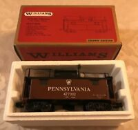 Williams O-Scale 1101 Pennsylvania 3-Rail Brass Body Caboose Crown Edition