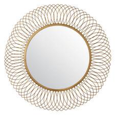 Espejos decorativos de bronce para el hogar
