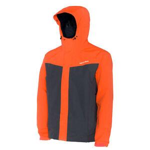 Grundens Full Share Jacket Orange/Grey