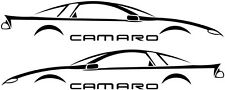 Camaro Fbody Window Decal, Fits 93-02, 40+ Colors Available! x 2 Decals