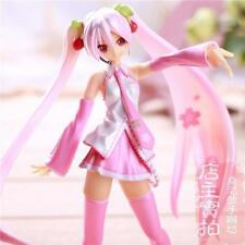 NEW Vocaloid Hatsune Sakura Miku Painted PVC Figure Dolls Anime Model Toy 16cm
