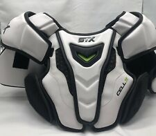 STX Cell IV Lacrosse Shoulder Pads Size Large