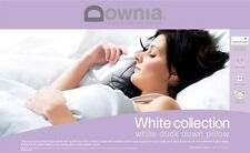 Downia White Collection 85% Duck Down Standard Size Pillow RRP $199.95