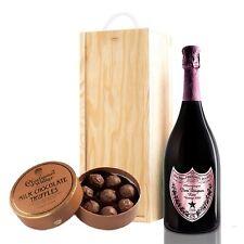 Dom Perignon Rose & Milk Charbonnel Chocolates Box