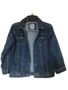 Ex Store G5 APPAREL New Kids Girls Distressed Denim Jacket