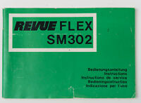 Bedienungsanleitung RevueFlex SM302 Anleitung Instruction