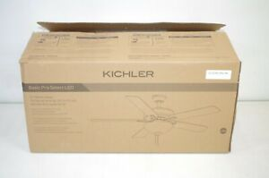 """Kichler Basics Pro Select Traditional 52"""" Ceiling Fan With Light In"""