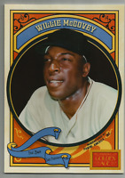 2014 Panini Golden Age 5 x 7 Box Toppers #4 Willie McCovey San Francisco Giants