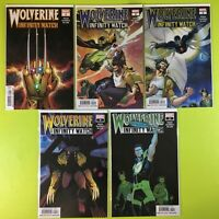 Wolverine Infinity Watch (2019) # 1-5 1st Prints Complete Lot Dugg Marvel NM 9.4