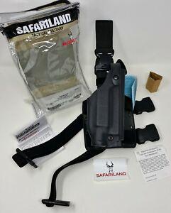 Safariland 6005 SLS Tactical RH Leg Holster QD Strap GLOCK 17 22 19 23 w/ LIGHT