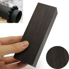 12cmx 4cm Handle Timber Wood Block Rare Craft Hobby Blackwood Tool Ebony Lumber