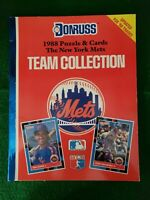 1988 Donruss Book New York Mets Puzzle and Card Team Collection Stan Musial MINT