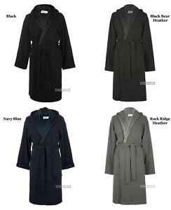UGG Brunswick Robe Black Navy Rock Ridge Grey Black Bear Heather Size M / L / XL