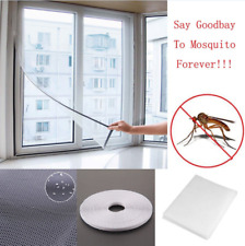 White Window Insect Screen Mesh Net Mosquito Fly Bug Moth Netting