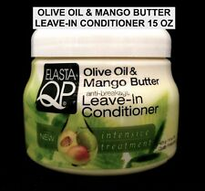 ELASTA QP OLIVE OIL & MANGO BUTTER ANTI BREAKAGE LEAVE IN CONDITIONER 15OZ