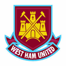 West Ham United FC Enamel Crest Official Metal Pin Football Club Badge