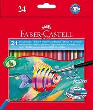 PASTELLI ACQUERELLABILI FABER CASTELL CF. 24 PZ.