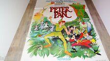 PETER PAN ! affiche cinema  animation bd  disney 60