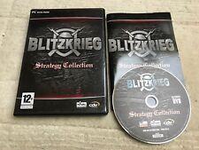Time of Vintage - Videogames PC-DVD Blitzkrieg Strategy Collection EZ-A349 Usato