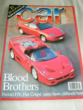 Car Aug 1995 Ferrari F50, Fiat Coupe, Audi A4 1.8T Sport