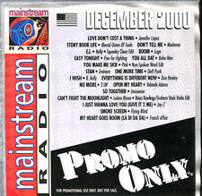 PROMO ONLY - MAINSTREAM RADIO - DECEMBER 2000 - PROMO CD COMPILATION