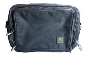 Lynx Xbox Original Carry Bag Black Zip Carrier 13x9 Inches
