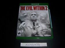 Replacement Case (NO  GAME) The Evil Within 2 Two XBOX ONE 1 XB1 100% Original