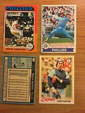 3 O Pee Chee OPC Steve Carlton Cards 1975 1979 1980 Philadelphia Phillies