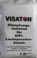 Dämmwatte Visaton Dämmwolle Lautsprecherdämmung Dämmung Boxen Lautsprecher 20L
