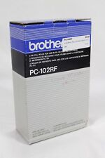 New 2-Pack Brother Pc-102RF Re-Fill Rolls Brother PC-101 Printer/Fax Machine