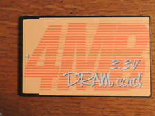 TOSHIBA SATELLITE EXP pcmcia ram memory DRAM card 3.3v 4mb Vintage T4600 Amiga