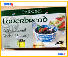 Welsh Laverbread 120g Tin by Parsons -A Welsh Seaweed Delicacy
