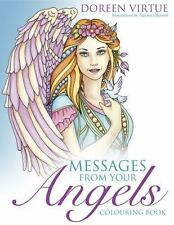 MESSAGES FROM YOUR ANGELS COLORING BOOK - VIRTUE, DOREEN/ BURNELL, NORMA J. (ILT