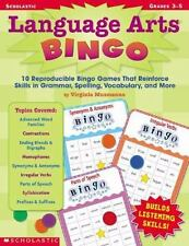 Language Arts Bingo : 10 Reproducible Bingo Games That Reinforce Skills Gr. 3-5