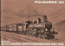 catalogo FULGUREX 1982 Spur N HOm HO O 100° Gotthardbahn    D F     aa