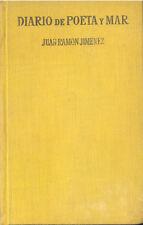 DIARIO DE POETA Y MAR JUAN RAMON JIMENEZ AFRODISIO AGUADO EDICION 1955  TC11986