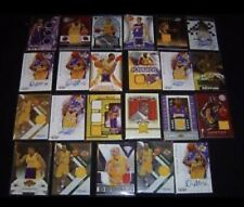 Los Angeles LA Lakers Hot Pack! NBA Guaranteed 4 Auto / Game Used Per Pack