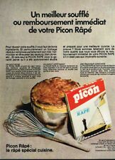 I- Publicité Advertising 1970 Le Fromage rapé Picon emmental